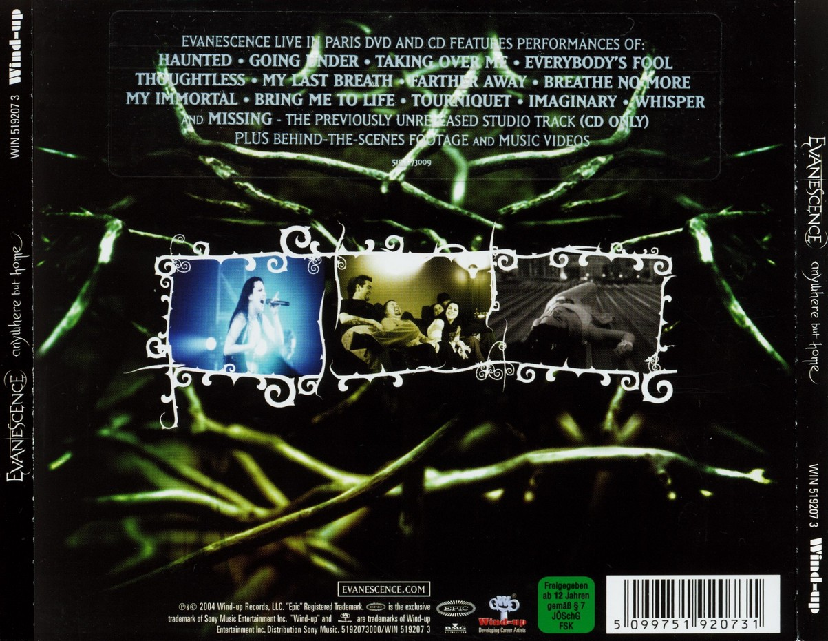 Albums Archive Evanescence