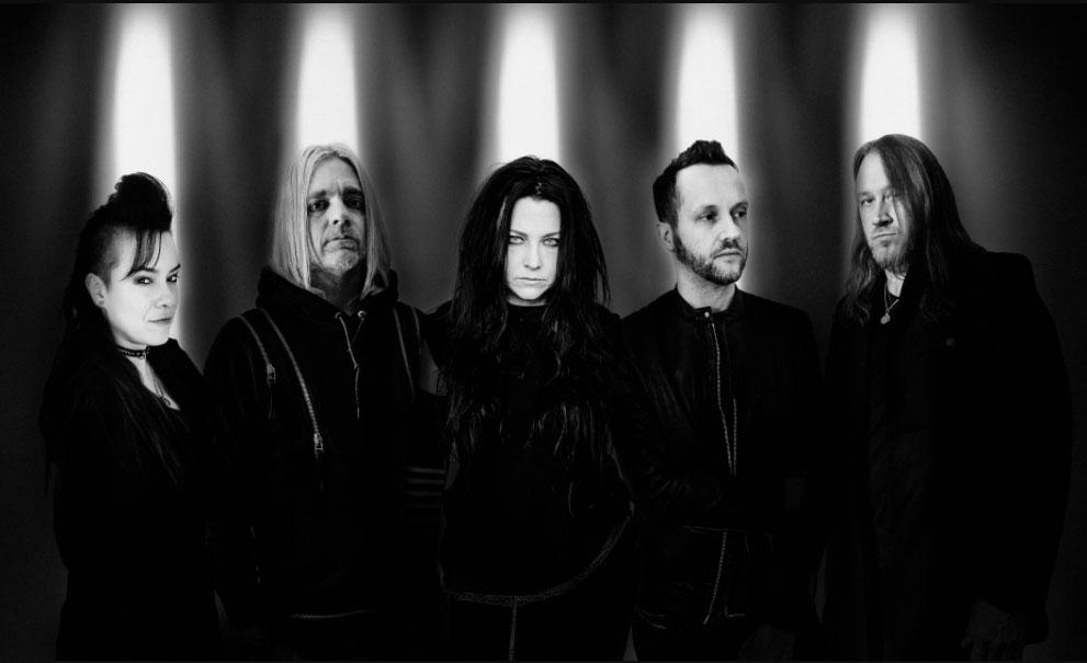 Evanescence band photo